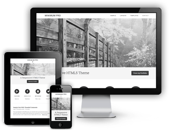 Minimum-Pro-Responsive-WordPress-Portfolio-Theme